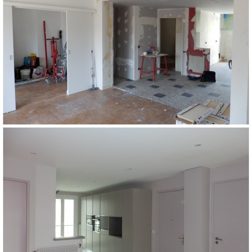 Rénovation d'un appartement